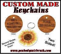Photo Key Chain Round