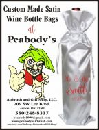 Wine Bottle Bag, Personalized