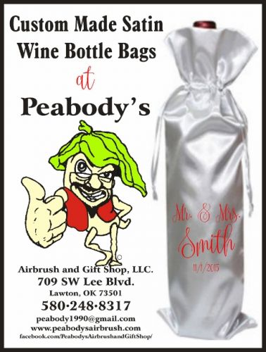 Wine Bottle Bag, Personalized