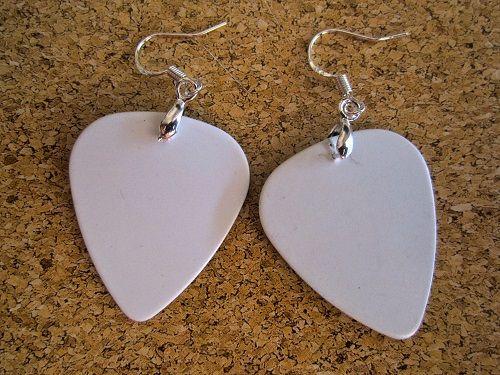 Custom Guitar Pick Earrings