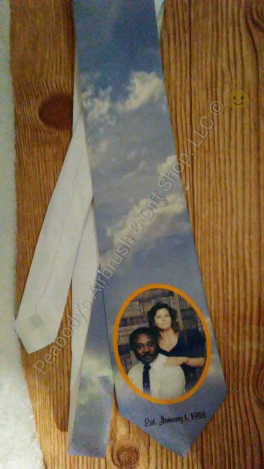 personalized neckties custom ties photo necktie fathers day tie